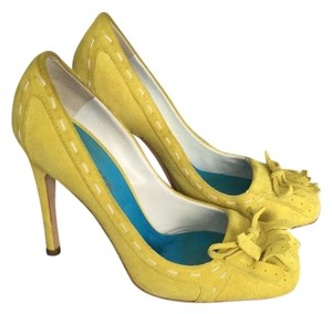Dsquared2 Yellow Pumps