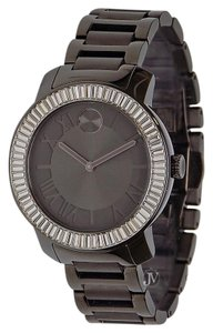 Movado BRAND NEW WOMENS MOVADO (3600248) BOLD GUN METAL STAINLESS STEEL WATCH