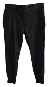 7 For All Mankind Boyfriend Pants Black