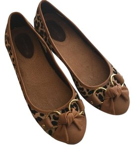 Sperry Leopard Flats