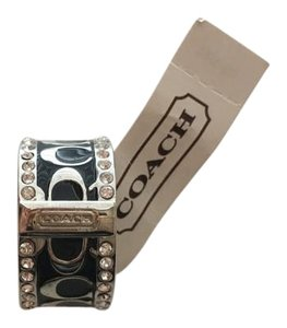 Coach Coach Monogram and Pave Ring
