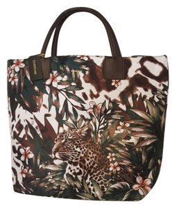 bebe Tote in Floral Brown
