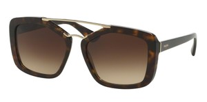 Prada Prada CINEMA SPR24R Sunglasses PR24RS Havana 2AU3D0 Authentic