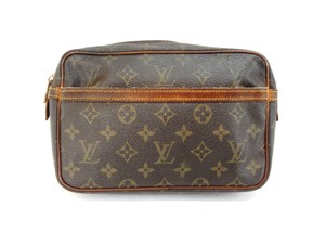 Louis Vuitton Compiegne 23 Monogram Canvas Toiletry Dopp Travel Bag