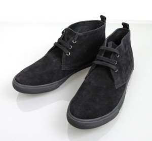 Prada Men's Suede Lace-up High-top Sneakers Shoes Uk 8.5/ Us 9.5 4t2582