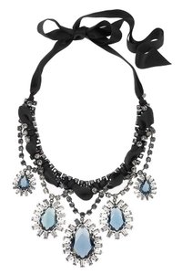 Lanvin LANVIN Multi-Strass Pendant Necklace