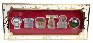 Juicy Couture NEW 6-Pc PERFUME GIFT SET BVLGARY GUCCI VERSACE VINCE CAMUTO DKNY