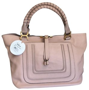 Chloé Tote in Blush Nude