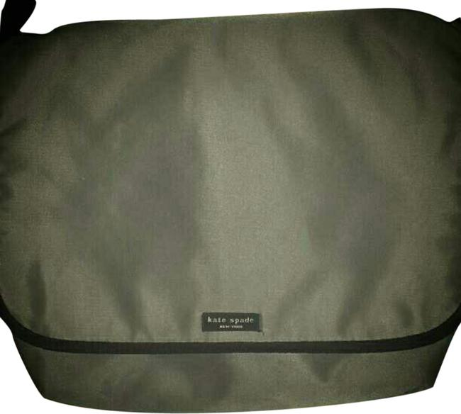 Item - Gray Nylon Messenger Bag
