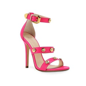 Versace Leather Pink Sandals