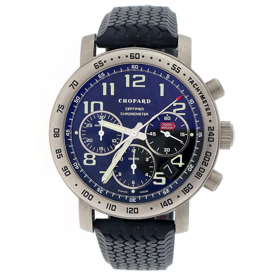 chopard mille miglia chronograph 40mm titanium 168915 3001 watch tradesy. Black Bedroom Furniture Sets. Home Design Ideas