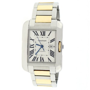 Cartier Cartier Tank Anglaise 2-Tone Gold/Steel 39mm Watch W5310047