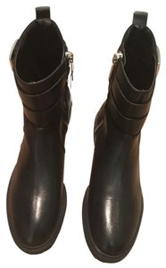 Brand new Zara boots authentic leather with tags. Black Boots