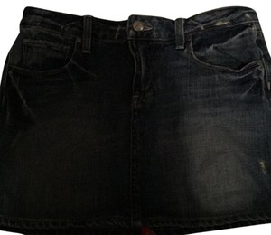 Paige Denim Mini Skirt