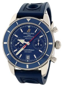 Breitling Breitling SuperOcean Heritage Chronograph 44MM Blue Dial Steel a23370
