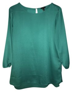 Ann Taylor Top Teal/green