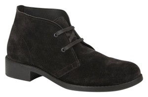 Bottega Veneta Suede Lace-up Dark Brown Boots