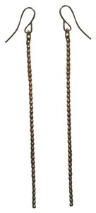 Other Brand New HANDMADE Long Thin Gold Beaded Chain Dangle Design NWOT