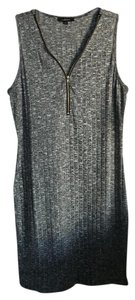Burlington short dress Grey Bodycon Sweater on Tradesy