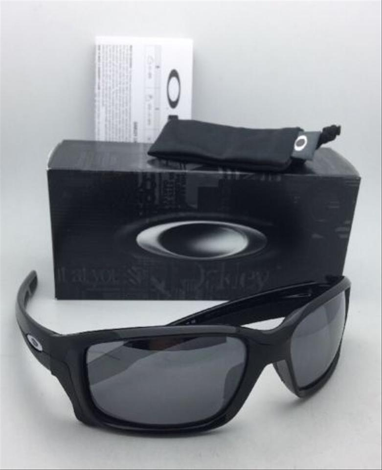 f7a569081c Oakley Straightlink Oo9331-01 Polished Black W Black Iridium W  Sunglasses