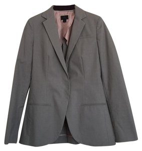 Banana Republic Fitted Business Suit Grey Blazer
