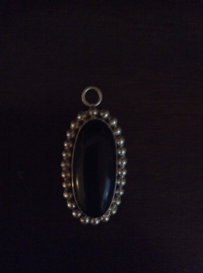Other Sterling silver and black onyx pendent