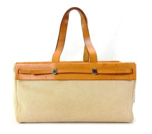 Hermès Cabas Her Weekender Tote France Shoulder Bag