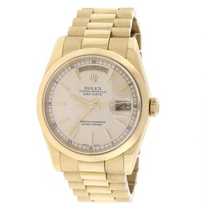 Rolex Rolex President Day-Date Gold Champagne Dial 36MM 118208