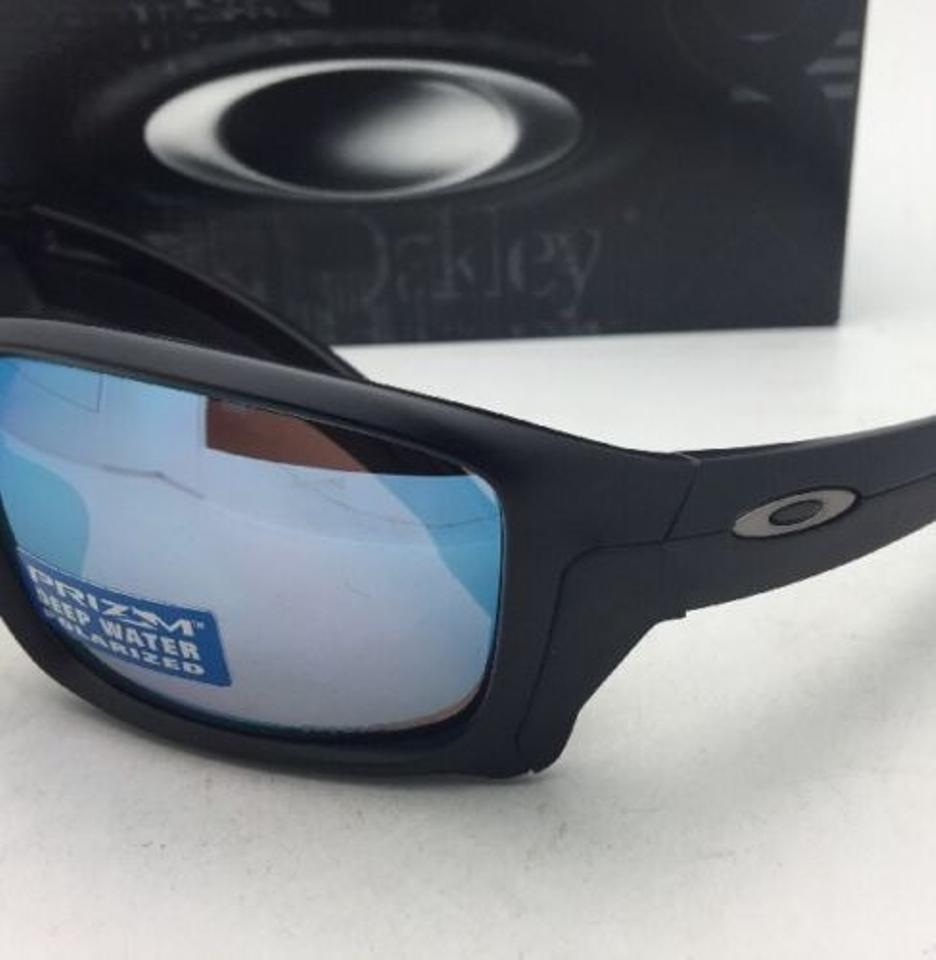 8098109941 Oakley Polarized OAKLEY Sunglasses STRAIGHTLINK OO9331-05 Black w PRIZM  Water Oakley Deep Blue Polarized Lens ...