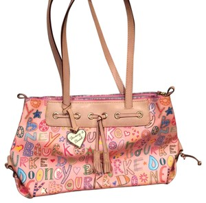 Dooney & Bourke Tote in Pink Multicolor