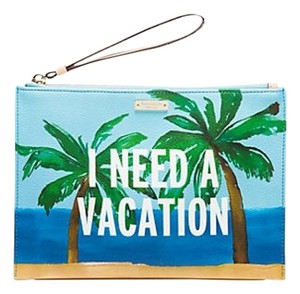 Kate Spade Kate Spade New York Breath of Fresh Air Vacation Bella Pouch NWT