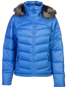 Columbia Puffer Warm Hood Detatchable Coat