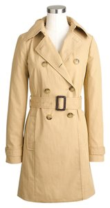 J.Crew Belted Trench Camel Trench Coat
