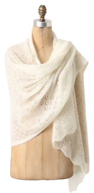 """Item - Ivory Angel Of The North """"Adelita Pointelle"""" Wrap Nwot Poncho/Cape Size 10 (M)"""