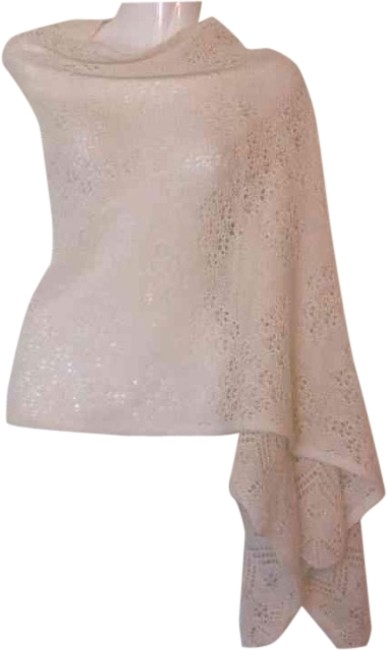 Anthropologie Angel Of The North Adelita Pointelle Wrap One Arm One Sleeve Cape