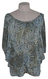 Pleione Batwing Draped Flowy Casual Anthropologie Top