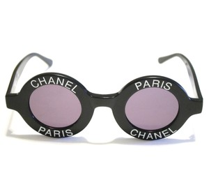 Chanel Vintage Round Sunglasses
