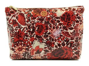 Tory Burch TORY BURCH Large Slouchy Flower Cosmetic Case