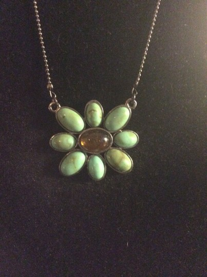 Other Turquoise flower necklace