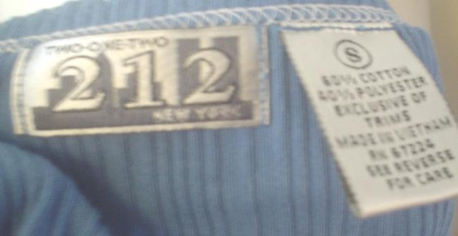 212 Collection New York Henley Mock Twin Small T Shirt Blue Image 6