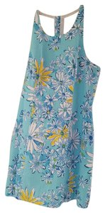 Lilly Pulitzer short dress NWT -Blue Racerback on Tradesy