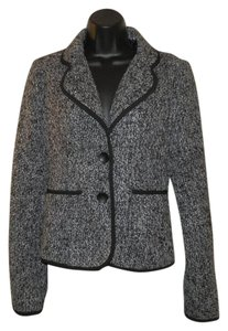 Hollywood & Hudson Yarn Heavy Black & White Blazer