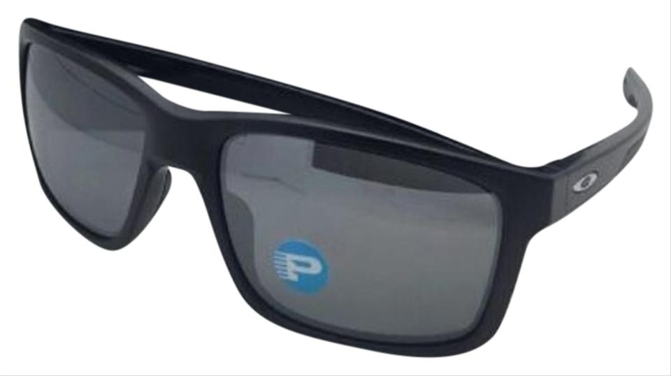 7d7408be0fb Oakley Polarized OAKLEY Sunglasses MAINLINK OO9264-05 Matte Black w Iridium  Image 0 ...