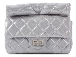 Chanel Ch.k0906.02 Quilted Metallic Clutch
