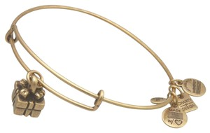 Alex and Ani Authentic Alex and Ani Gift Box Gold Charm Bangle/Bracelet