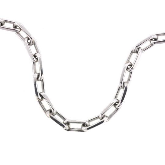Cartier Cartier 18kt White Gold Spartacus Link Chain Necklace 18""