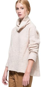 Free People Wool Cowl Cowlneck Waffle Sweater