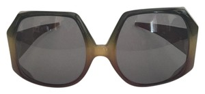 Dior Ultra Chic Dior Vintage 1970's Oversized Ombre Frame Sunglasses
