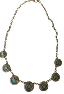 Judith Ripka Sterling Silver and Turquoise Doublet Necklace