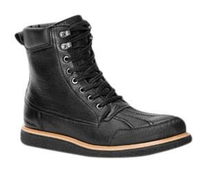 Calvin Klein Leather Mens Black Boots
